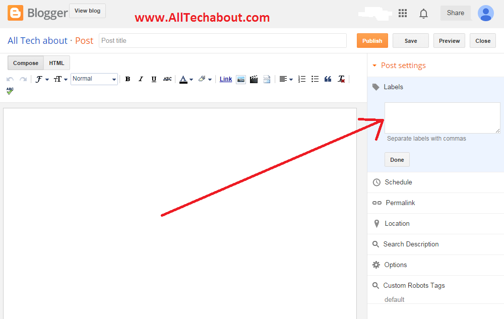 How To Optimize Blogger Labels For Better SEO