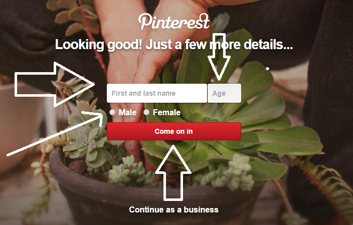How to Create a Pinterest Account without Facebook or Twitter