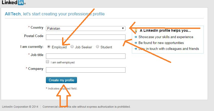 How to Sign Up and Create a LinkedIn Profile