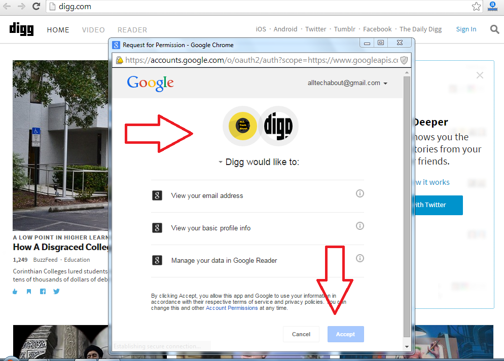 How to Create an Account on Digg