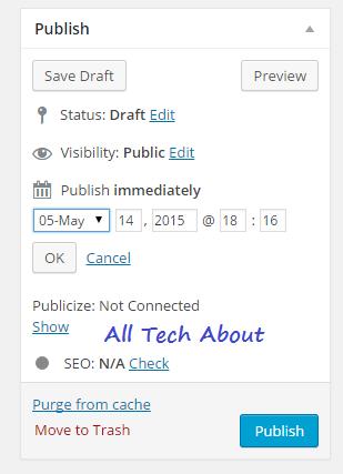 How To Schedule Posts in Your WordPress Blog