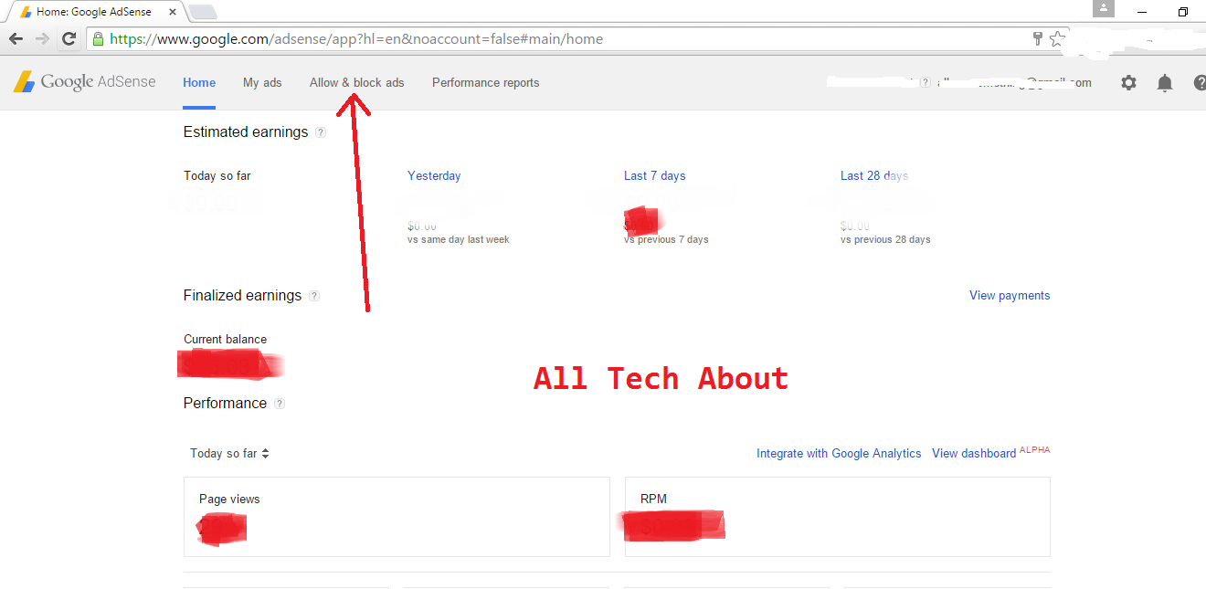 How to Increase Google Adsense Earnings By Blocking URL