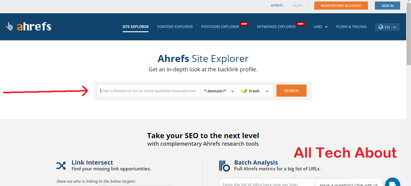 How To Check Dofollow Backlinks With Ahrefs com