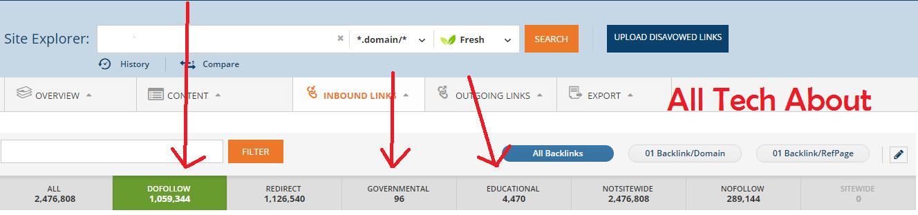 Check Dofollow Backlinks
