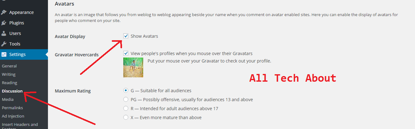 How to Remove Gravatar from WordPress Comments
