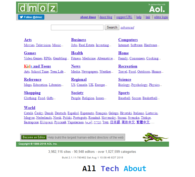 How to Submit Your Site to DMOZ