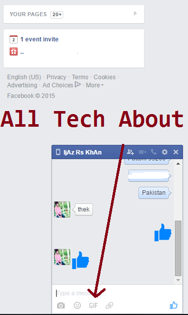 How to Post an Animated Image GIF On my  Facebook Wall