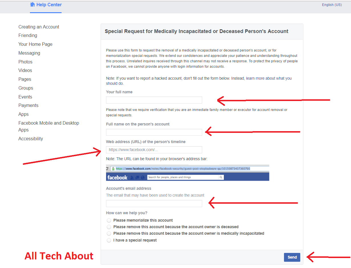 How To Remove An Account If You Don't Have The Required Information